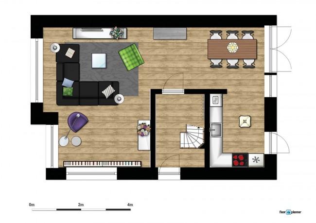 3d plattegrond woonkamer ~ lactate for ., Deco ideeën